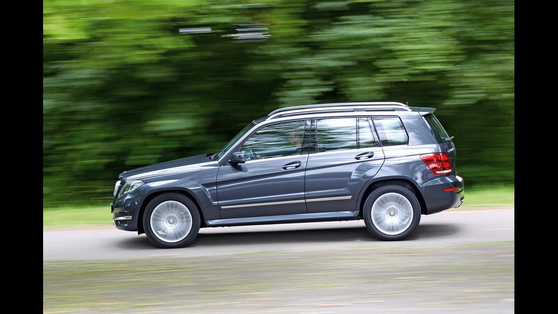 Mercedes GLK 220 CDI Bluetec, Seitenansicht