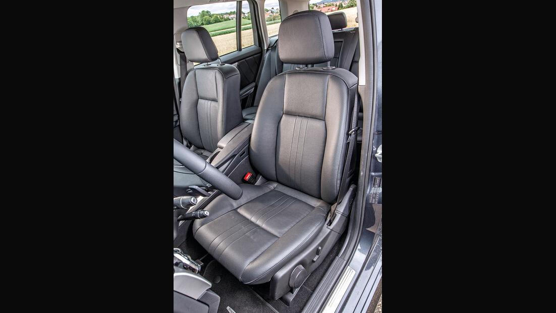 Mercedes GLK 220 CDI, Fahrersitz