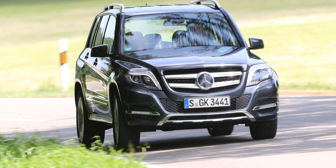 Mercedes GLK 220 CDI, Frontansicht