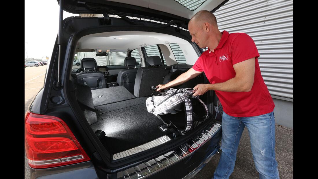 Mercedes GLK 220 CDI, Kofferraum, Heckklappe