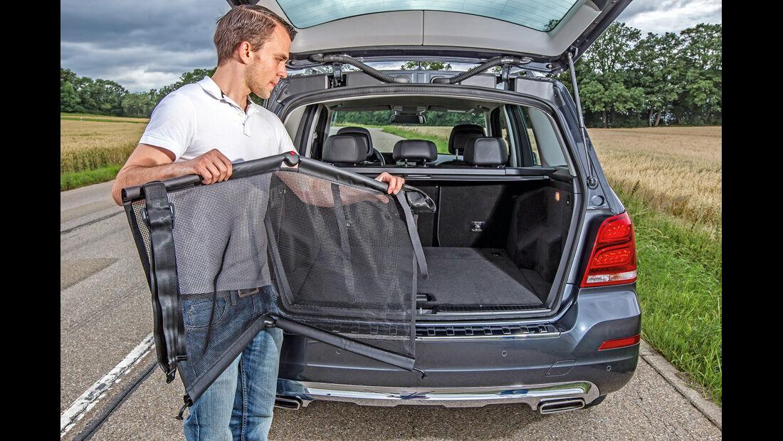Mercedes GLK 220 CDI, Ladefläche, Kofferraum