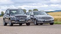 Mercedes GLK 220 CDI, Mercedes  C 220 CDI T, Frontansicht