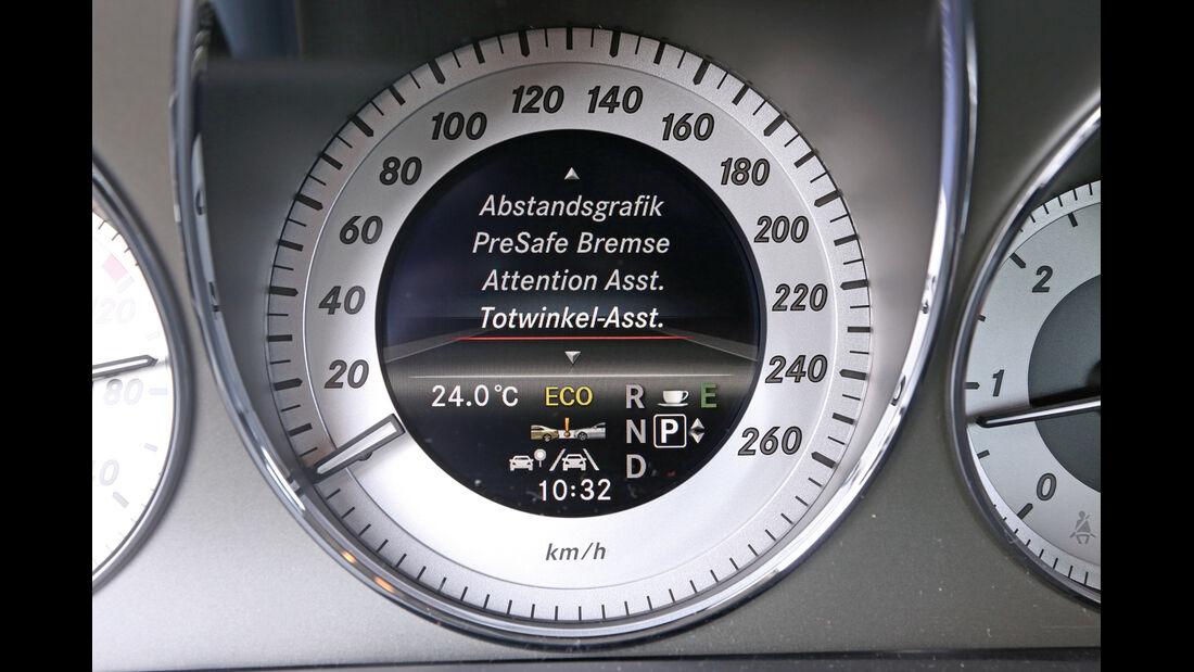 Mercedes GLK 220 CDI, Rundinstrumente