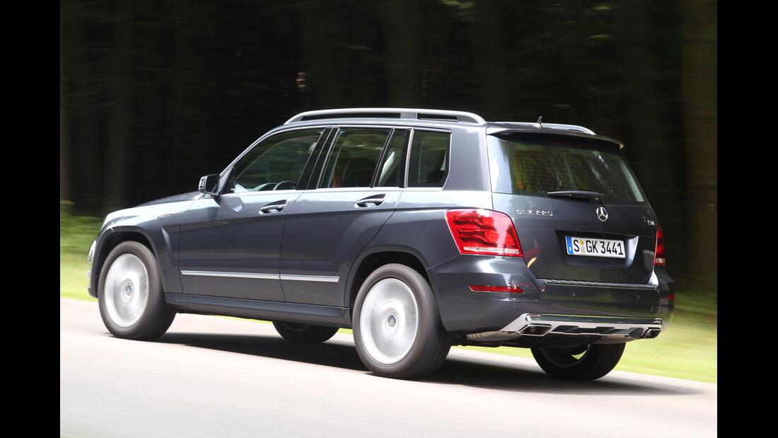 Mercedes GLK 220 CDI, Seitenansicht