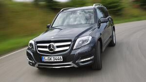 Mercedes GLK 250 Bluetec 4-Matic, Frontansicht
