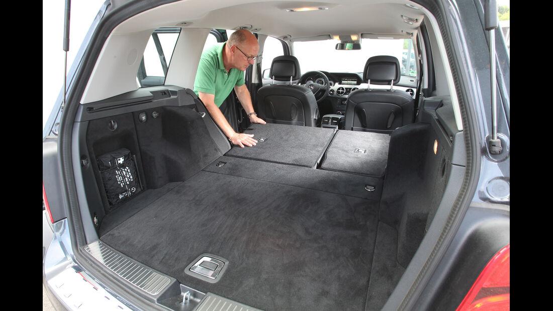 Mercedes GLK 250 Bluetec 4-Matic, Ladefläche, Kofferraum