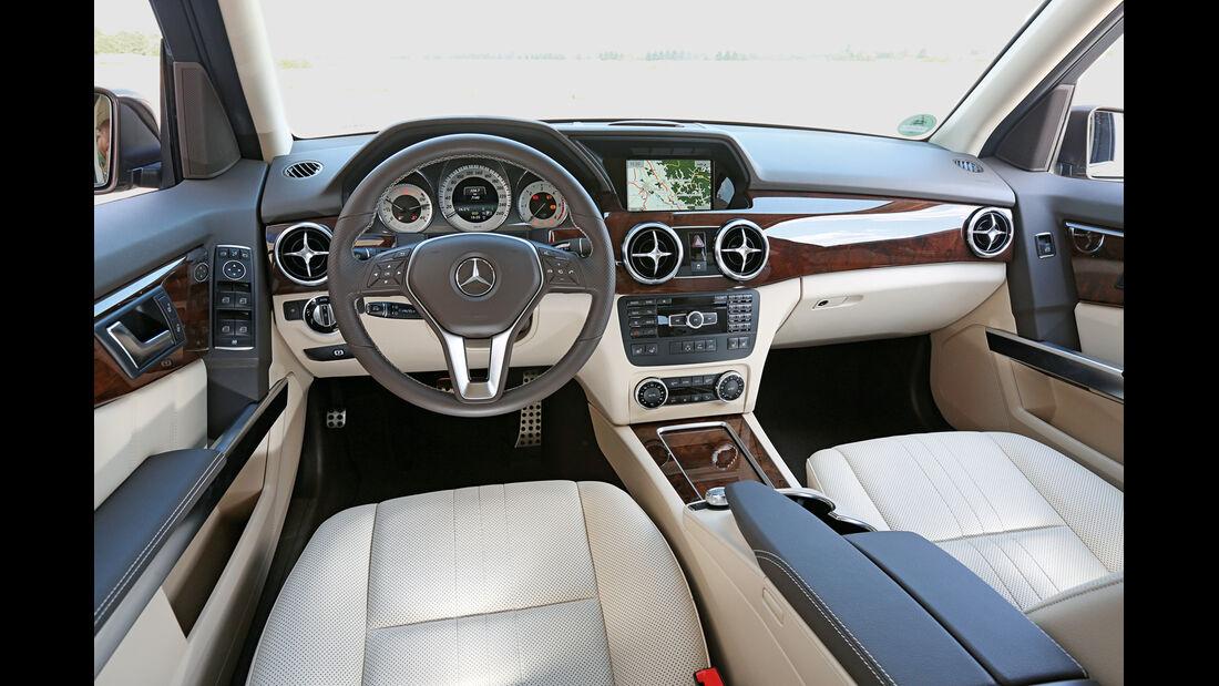 Mercedes GLK 250 Bluetec 4Matic, Cockpit