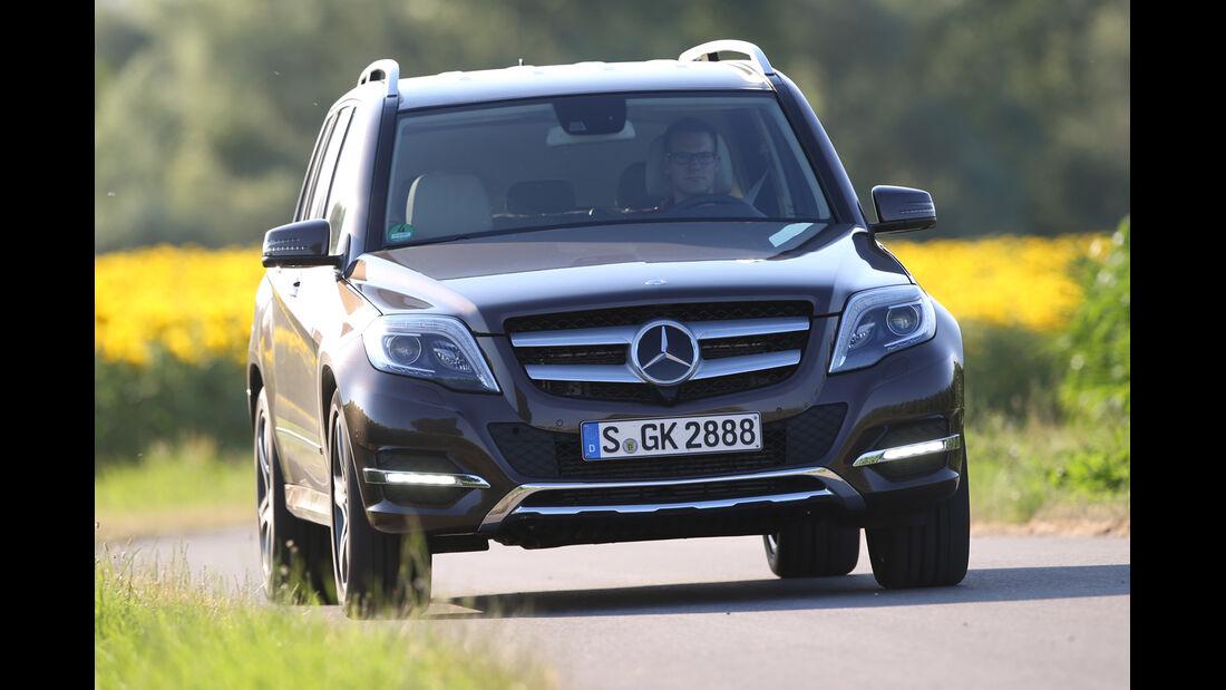 Mercedes GLK 250 Bluetec 4Matic, Frontansicht