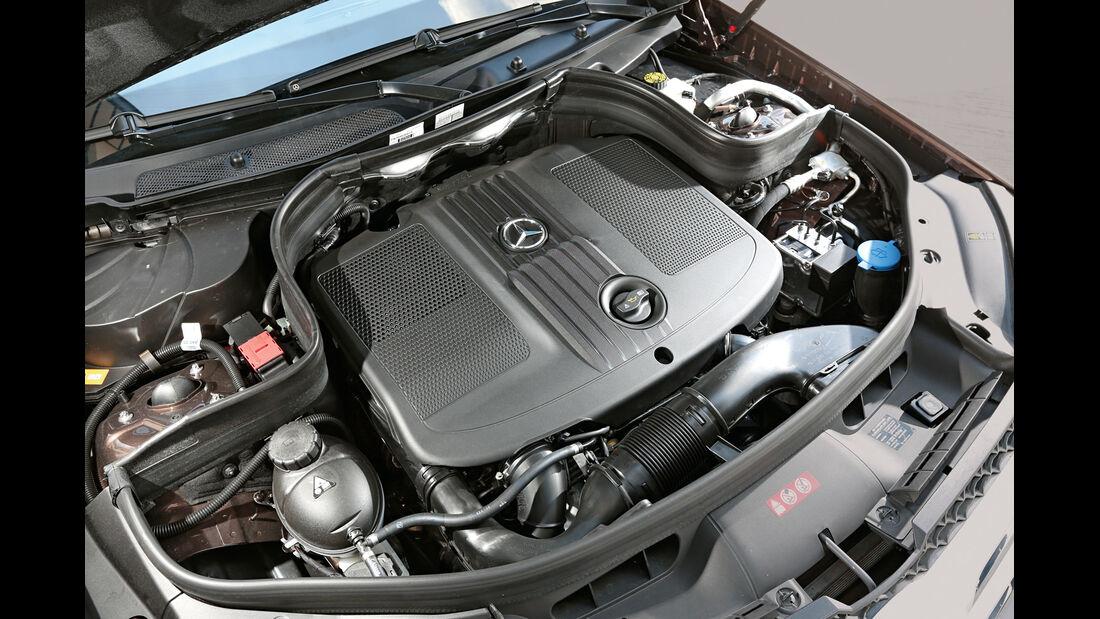 Mercedes GLK 250 Bluetec 4Matic, Motor