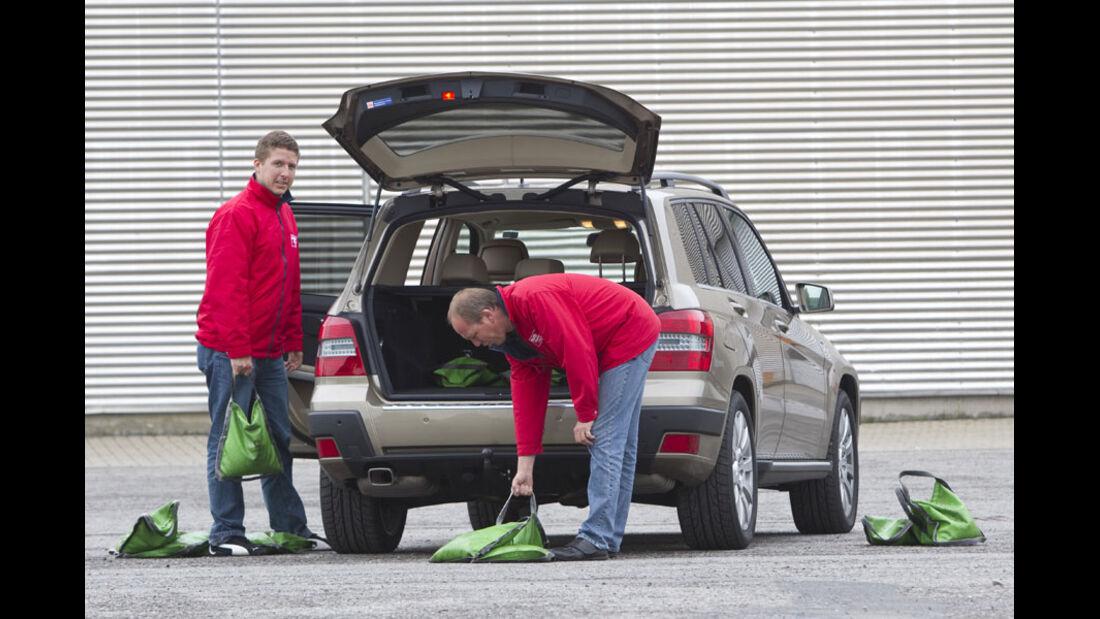 Mercedes GLK 250 CDI 4matic Kofferraum