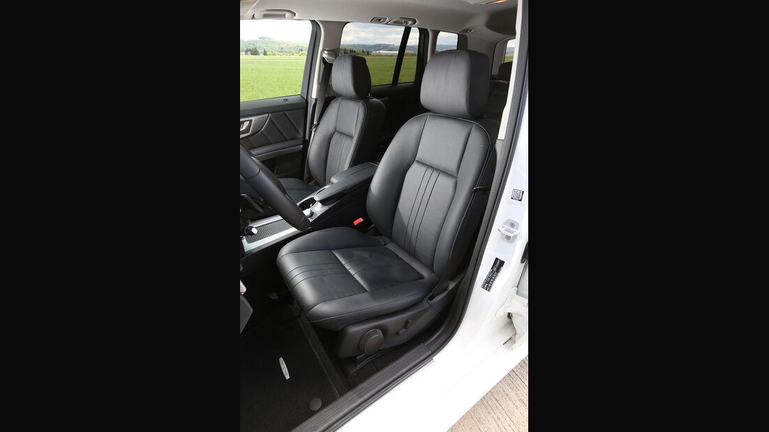 Mercedes GLK 350 CDI 4Matic, Fahrersitz