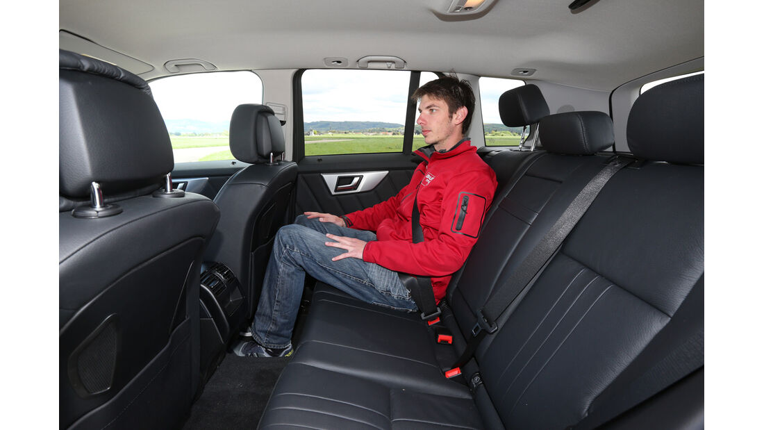 Mercedes GLK 350 CDI 4Matic, Fondsitz