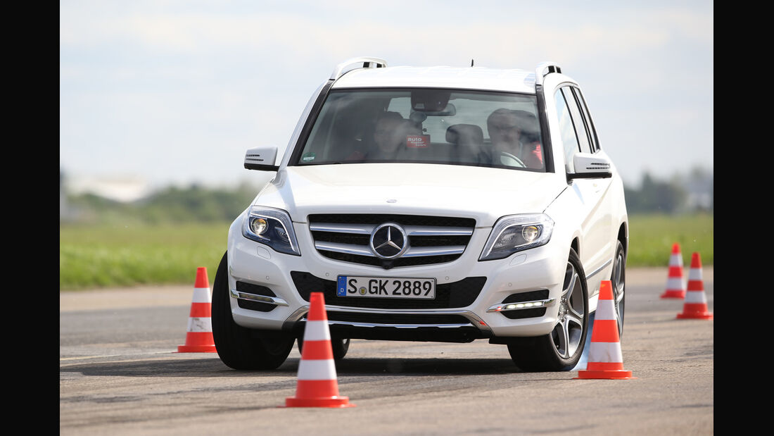 Mercedes GLK 350 CDI 4Matic, Frontansicht