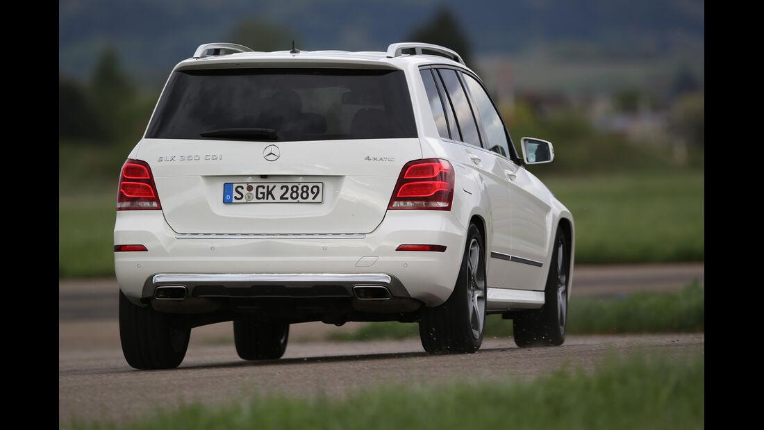 Mercedes GLK 350 CDI 4Matic, Heckansicht