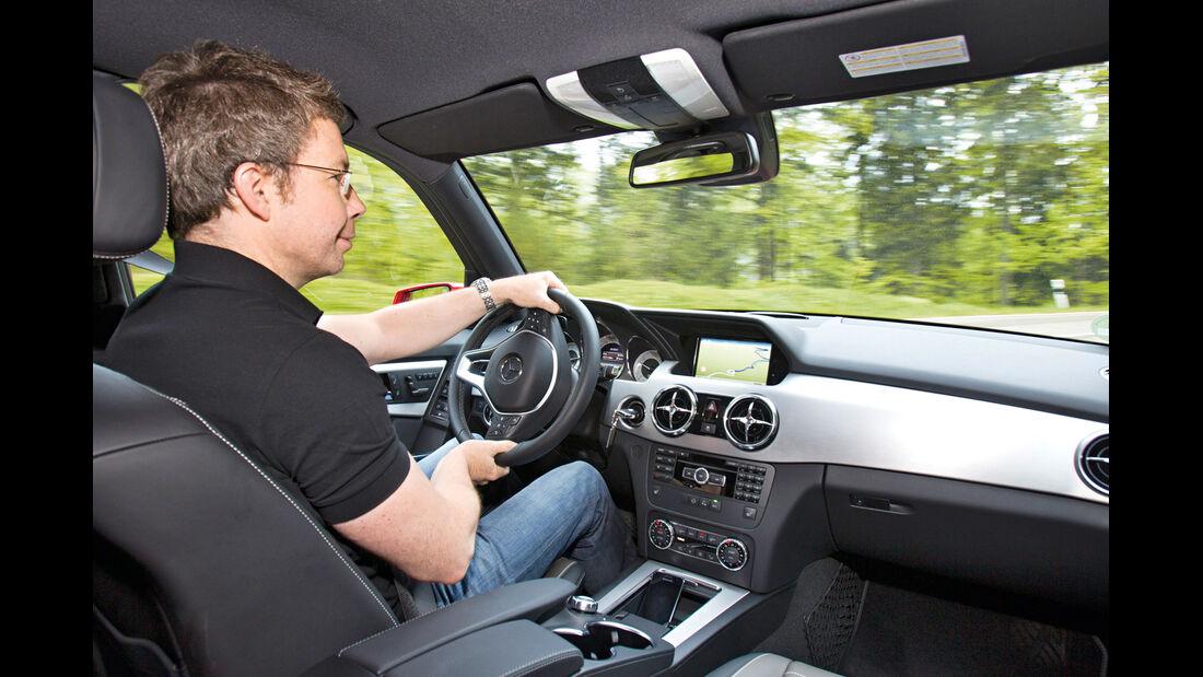 Mercedes GLK, Cockpit, Dirk Gulde