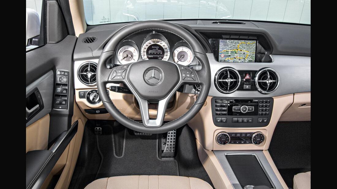 Mercedes GLK, Cockpit