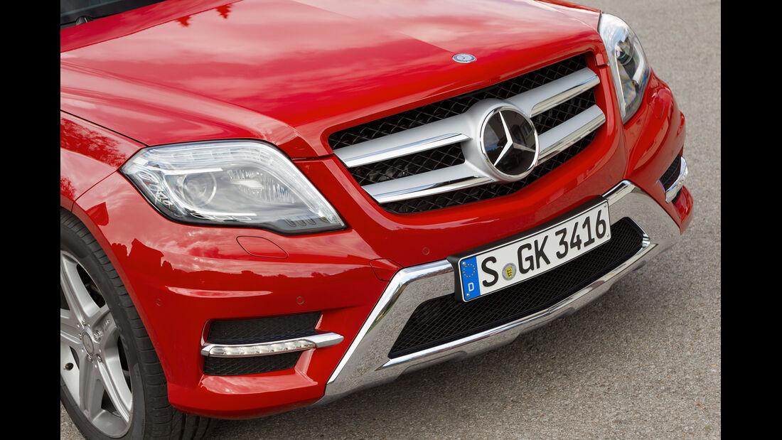 Mercedes GLK, Front, Kühlergrill