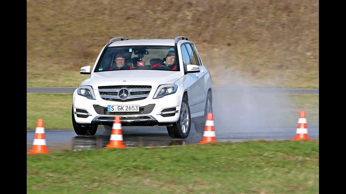 Mercedes GLK, Frontansicht