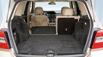 Mercedes GLK, Kofferraum