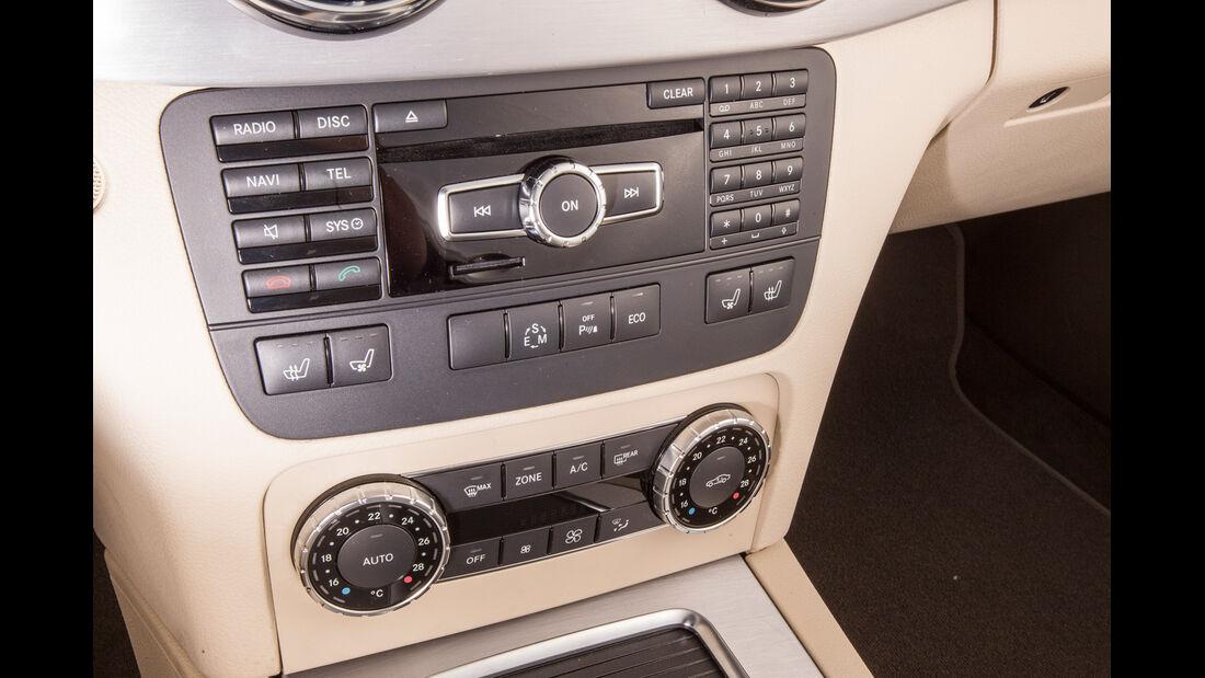 Mercedes GLK, Mittelkonsole