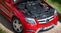 Mercedes GLK, Motor, Motorhaube