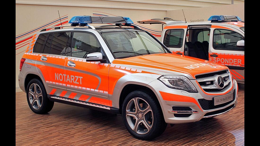 Mercedes GLK Notarzt