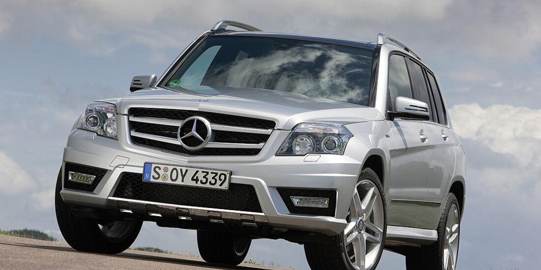 Mercedes GLK Offroad Challenge