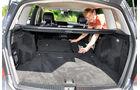 Mercedes GLK, Rückbank