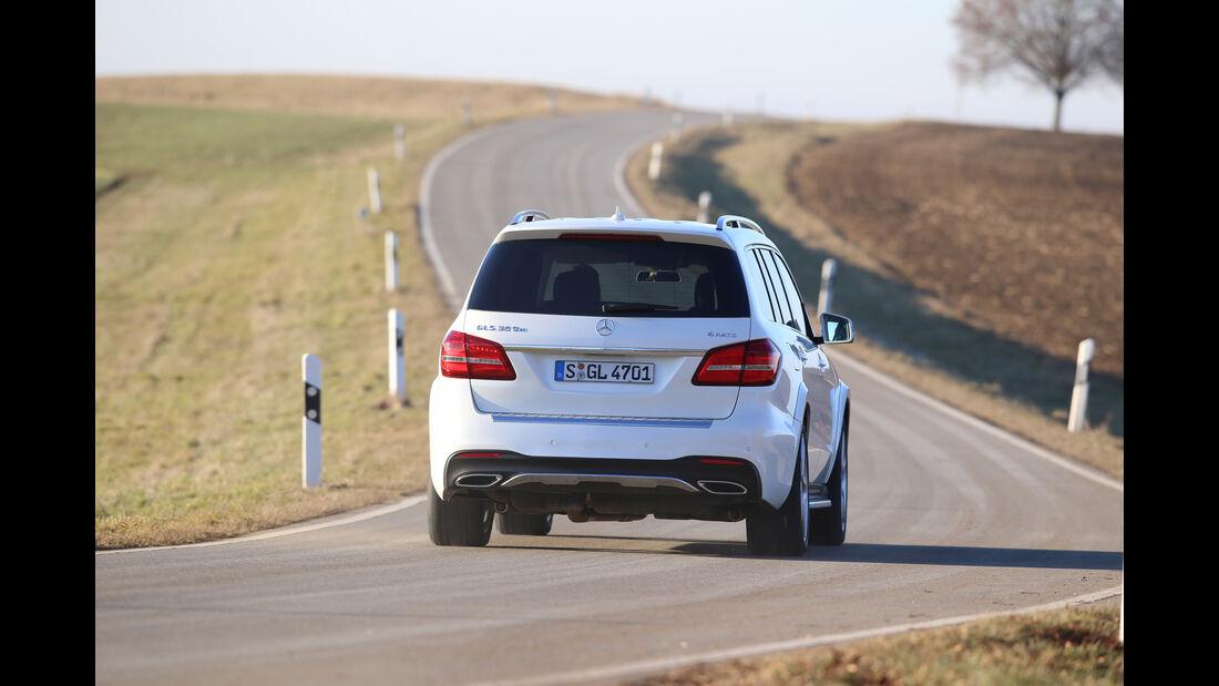 Mercedes GLS 350 d 4Matic, Heckansicht