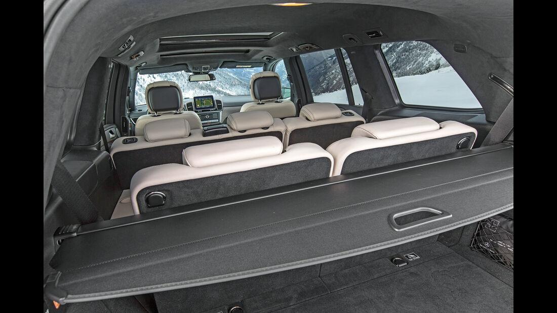 Mercedes GLS 350 d, Interieur