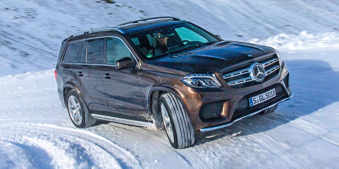 Mercedes GLS 350 d, Seitenansicht