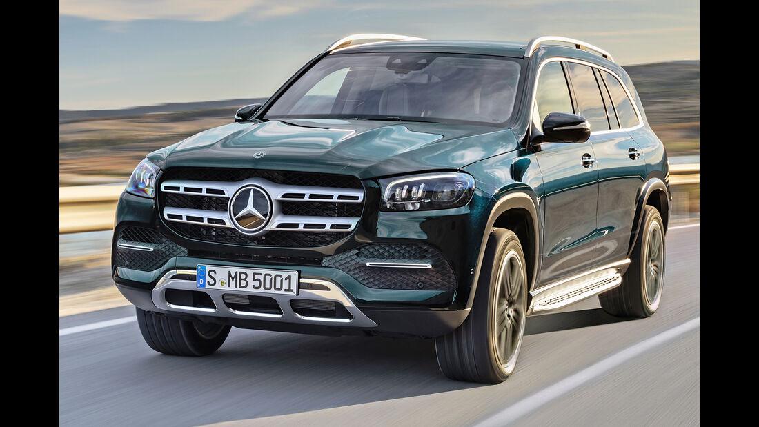 Mercedes GLS, Best Cars 2020, Kategorie K Große SUV/Geländewagen