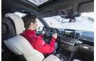 Mercedes GLS, Fahrbericht, Cockpit
