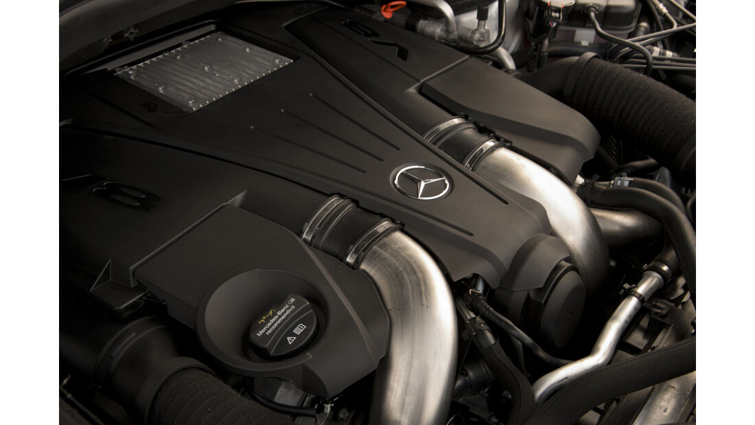 Mercedes GLS, Fahrbericht, Motor