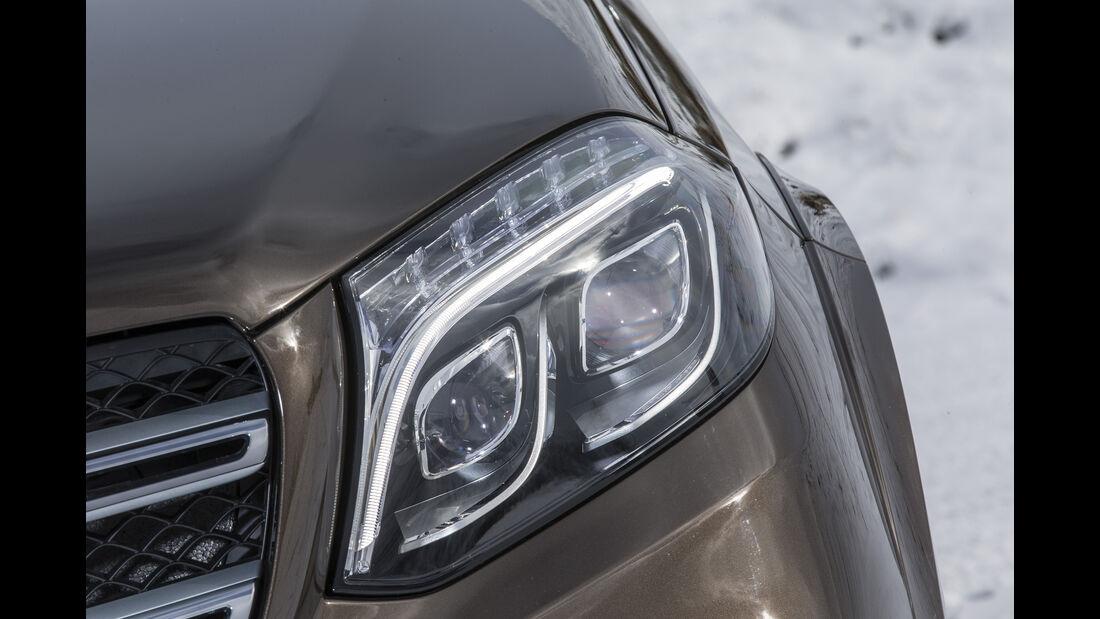 Mercedes GLS, Fahrbericht, Scheinwerfer