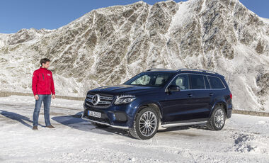Mercedes GLS, Fahrbericht