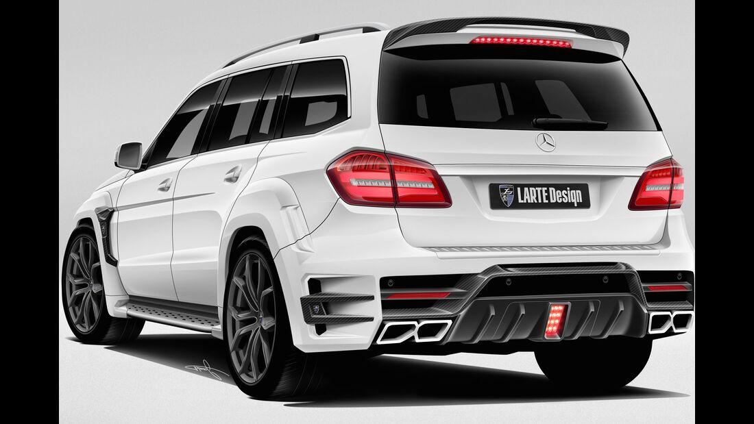 Mercedes GLS Larte Design