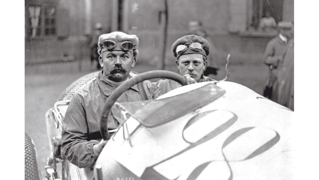 Mercedes GP 1914, Christian Lautenschlager