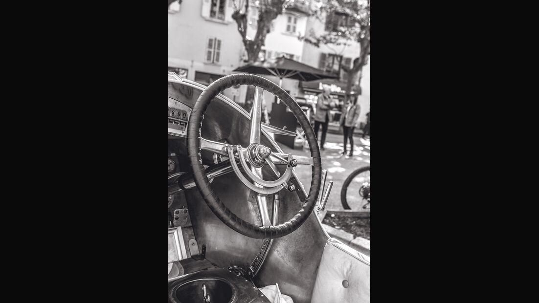 Mercedes GP 1914, Cockpit