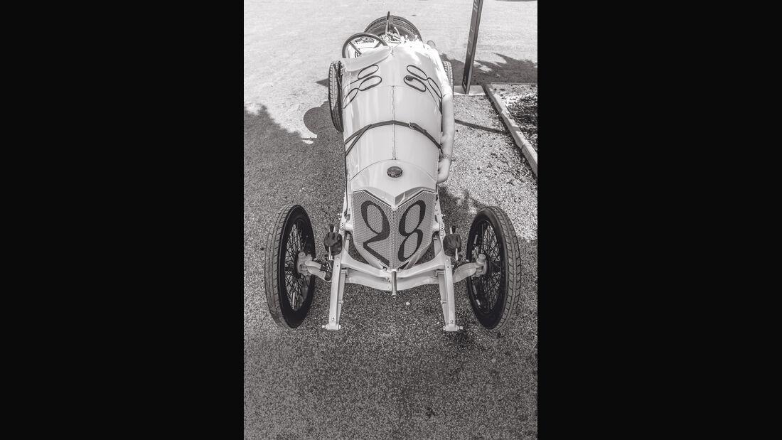 Mercedes GP 1914, Draufsicht