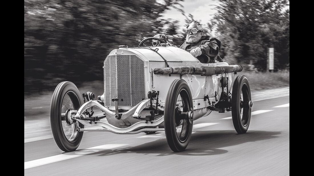Mercedes GP 1914, Frontansicht