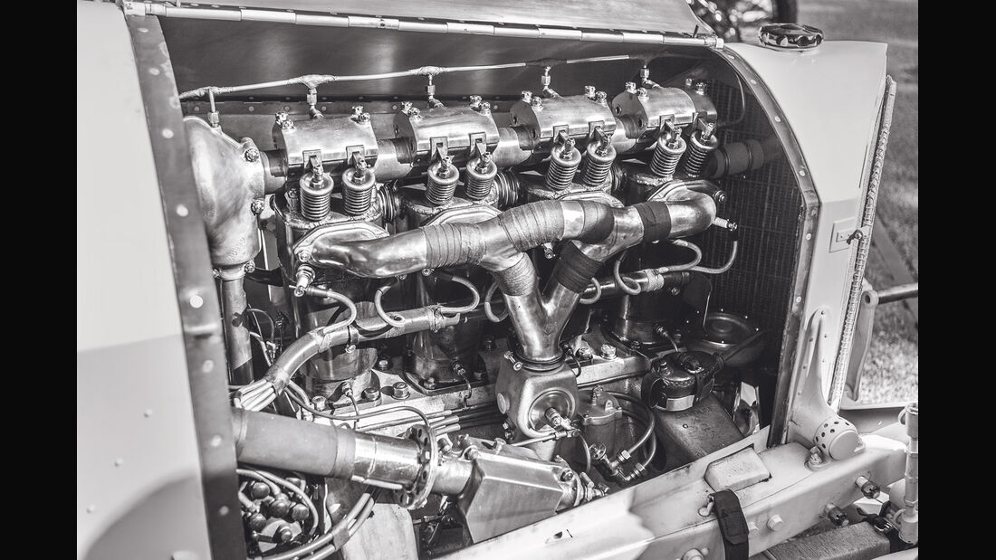 Mercedes GP 1914, Motor