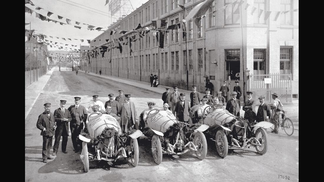 Mercedes GP 1914, Ungtertürkheim, GP