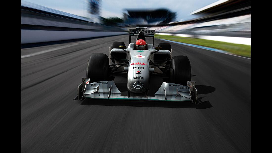 Mercedes GP 2010 Animation