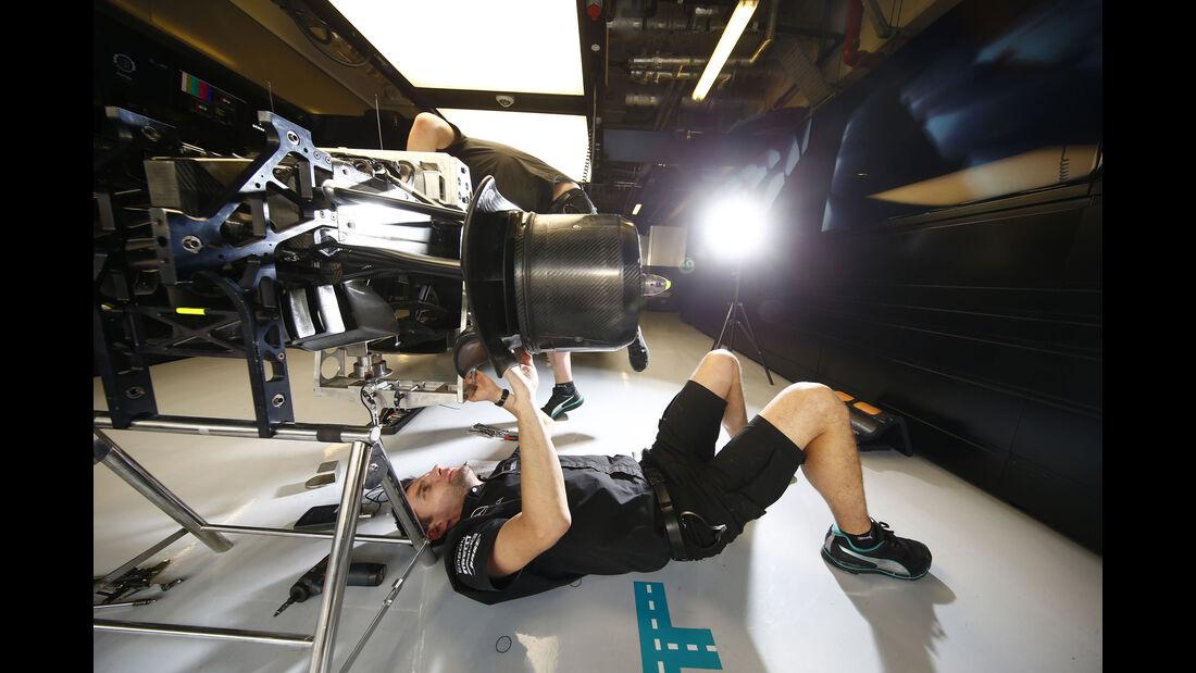 Mercedes - GP Abu Dhabi 2016 - Formel 1