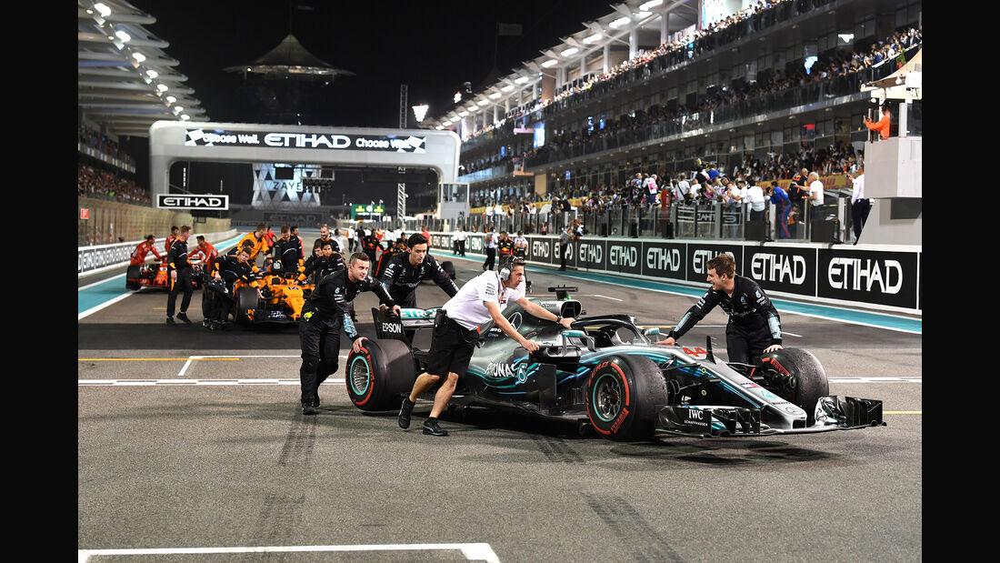 Mercedes - GP Abu Dhabi 2018