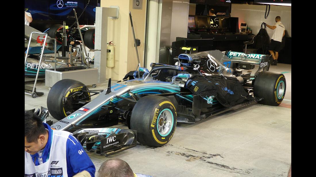 Mercedes - GP Abu Dhabi - Formel 1 - 22. November 2018