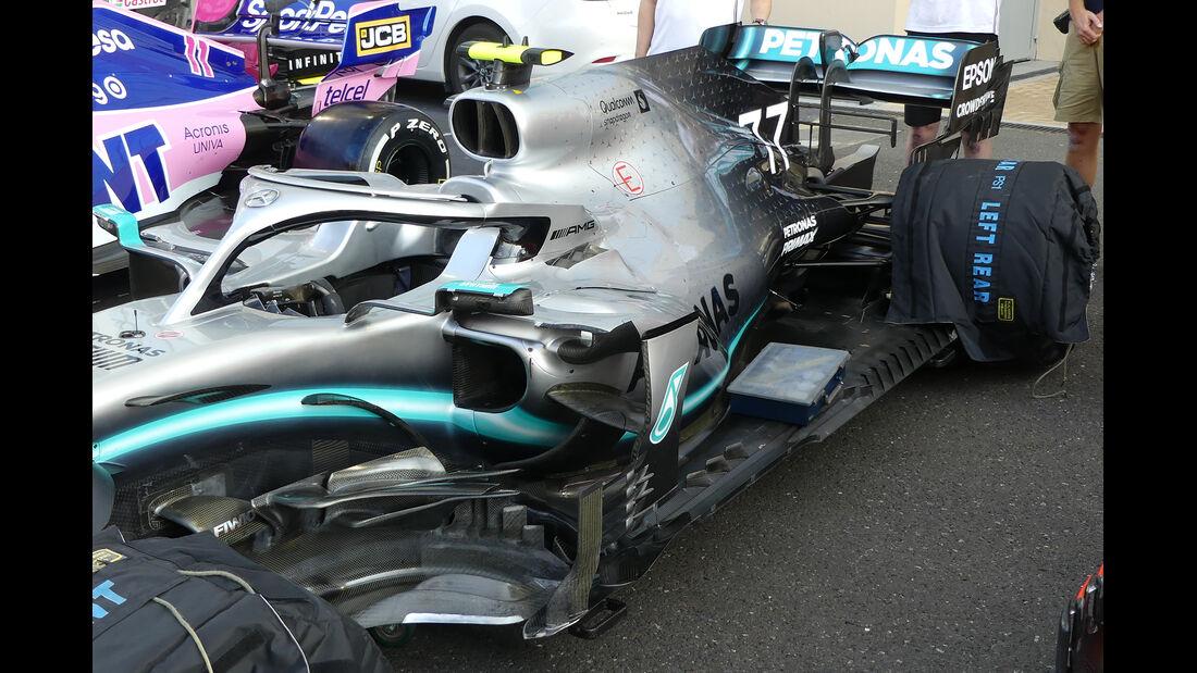 Mercedes - GP Abu Dhabi - Formel 1 - Donnerstag - 28.11.2019