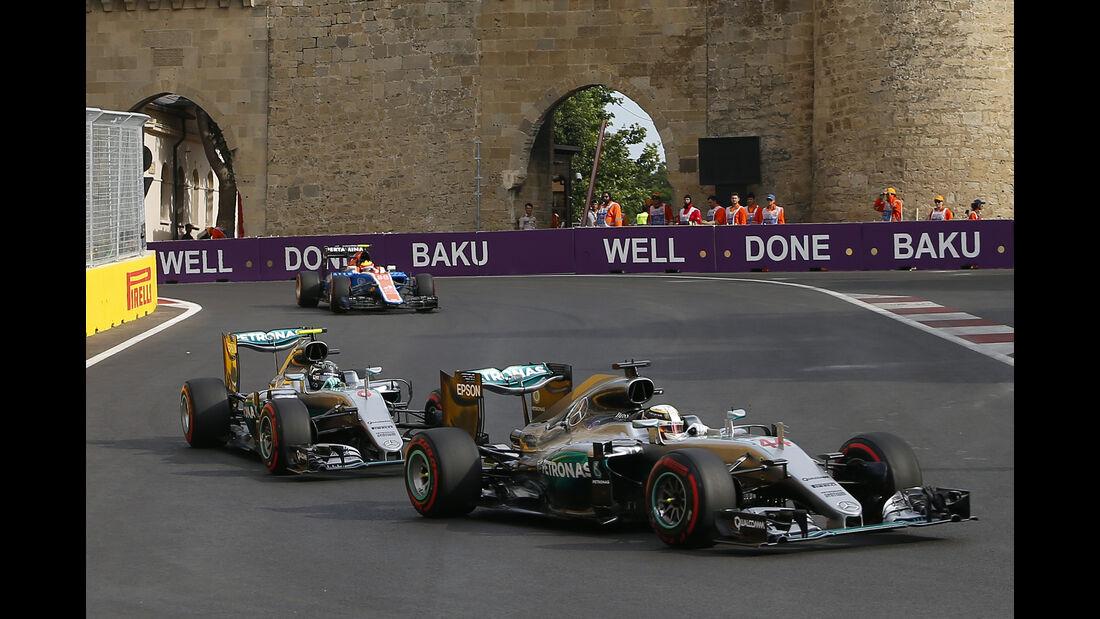 Mercedes - GP Aserbaidschan 2016