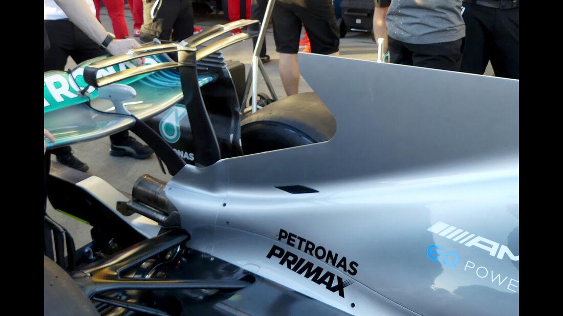 Mercedes - GP Australien - Formel 1 - Technik - 2017